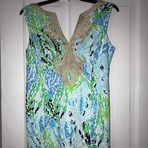 Lilly Pulitzer Let's Cha Cha Janice Shift Dress
